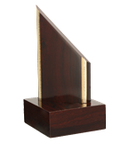 Wooden trophy TROF1 1