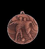 Medal 50 mm football, 3rd place - bronze MMC3650/B 11