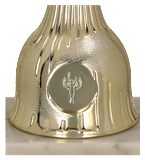 Metal cup gold WITO 9210H 4