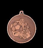Medal 50 mm football, 3rd place - bronze MMC9750/B 11