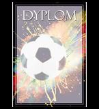 Paper diploma - football DYP120 1