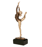 Resin figure - gymnastics RXY656/BR 1