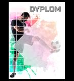 Paper diploma - football DYP151 1
