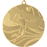 Medal 50 mm volleyball, 1st place - gold MMC2250 1