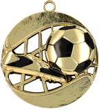 Medal 70 mm football, 1st place - gold MD1270 1