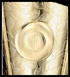 Kunststoff-Pokal Gold/Pink FABI PI 4204C 4