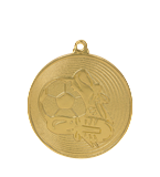 Medal 50 mm football, 1st place - gold MMC9750/G 11