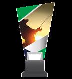 Trofeum szklane - WĘDKARSTWO CG02 FIS 1