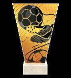 <span>Glastrophäe – Fußball<span style='color:#ff0066; font-weight:800;'> - PRODUKTION BIS ZU 5 WERKTAGE</span></span> VL1-D/SOC3-PW 4