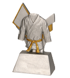 Resign figure - karate RE027 1