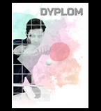 Papierdiplom  - Tischtennis DYP154 1