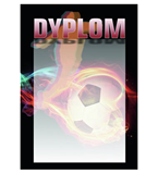 Paper diploma - football DYP89 1