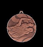 Medal 50 mm swimming, 3rd place - bronze  MMC2750/B 11