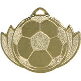 Medal 32 mm football, 1st place - gold MMC2838 1