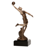Resin figure - basketball RTY1203/BR 1