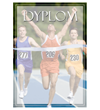 Paper diploma - running DYP115 1