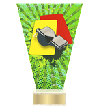 <span>Glass award  – football referee<span style='color:#ff0066; font-weight:800;'> - PRODUCTION UP TO 5 WORKING DAYS</span></span> VL2/SOC7 1