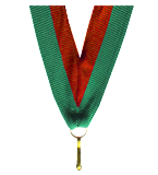 Ribbon 22 mm - red-green V2-R/GN 1