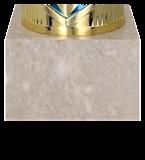 Кубок металлический золото-синий NIKO BL 7137F 5