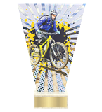 <span>Glass award  – mountain biking<span style='color:#ff0066; font-weight:800;'> - PRODUCTION UP TO 5 WORKING DAYS</span></span> VL2/MTB 1