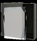 Glass award with presentation box C072 1