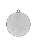 Medal 50 mm running, 2nd place - silver MMC2350/S 12