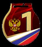 Medal stalowy z usługą Q - ROSJA MC61/G/RU2.1 2