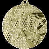 Medal 50 mm athletics, 1st place - gold MMC8450 1