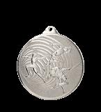 Стальная медаль в легкой атлетике 70 мм MMC3072/S 11