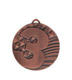 Medal 50 mm 3rd place - bronze MD1750/B 11