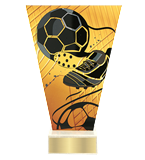 <span>Glastrophäe – Fußball<span style='color:#ff0066; font-weight:800;'> - PRODUKTION BIS ZU 5 WERKTAGE</span></span> VL1/SOC3 1
