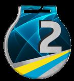 Steel medals with a colour print - UKRAINE MC61/S/UA1.2 2