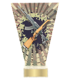 <span>Glass award  – shooting, long gun<span style='color:#ff0066; font-weight:800;'> - PRODUCTION UP TO 5 WORKING DAYS</span></span> VL2/SHO2 1