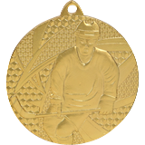 Medal 50 mm hockey, 1st place - gold MMC6750 1