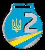 Steel medals with a colour print - UKRAINE MC61/S/UA2.2 2