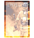 Paper diploma - fire-fighting DYP121 1