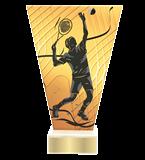 <span>Glastrophäe – Tennis<span style='color:#ff0066; font-weight:800;'> - PRODUKTION BIS ZU 5 WERKTAGE</span></span> VL1/TEN2 1