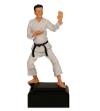 Resin figure -  karate RFST2101 2