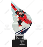 Trophy from plexy on a platform  - skates CP01-M/SKT2 1