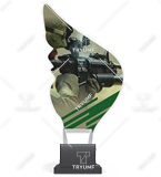 Trophy from plexy on a platform - SOLDIER CP01/SOL 1