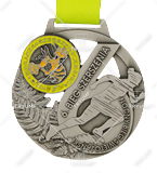Bespoke medal – example M.BIEG84 1