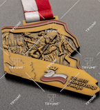 Bespoke medal – example M.BIEG78 1