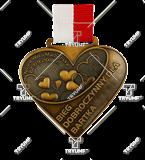 Bespoke medal – example M.BIEG48 1