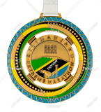 Bespoke medal – example M.BIEG98 1