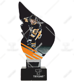 Trophy from plexy on a platform – HOCKEY CP01-M/HOC2 1