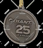 Bespoke medal – example M.JUB12 1