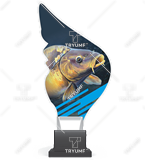 Trophy from plexy on a platform - FISHING CP01/FIS2 1
