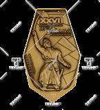 Bespoke medal – example M.BIEG68 1