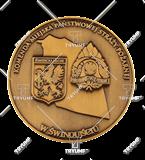 Bespoke medal – example M.JUB09 1