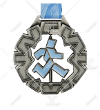 Bespoke medal – example M.BIEG69 1